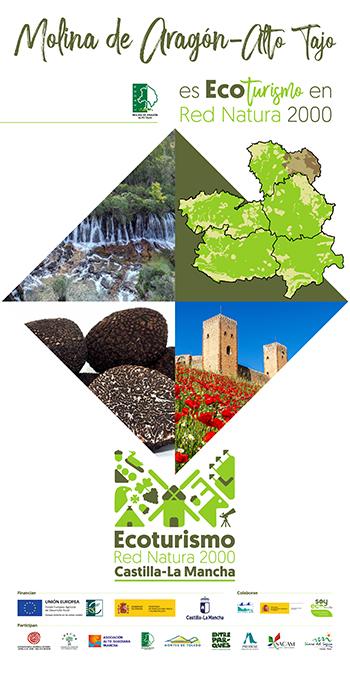 El proyecto de cooperación regional Ecoturismo en la Red Natura 2000 en Castilla–La Mancha se presenta en Molina de Aragón-Alto Tajo