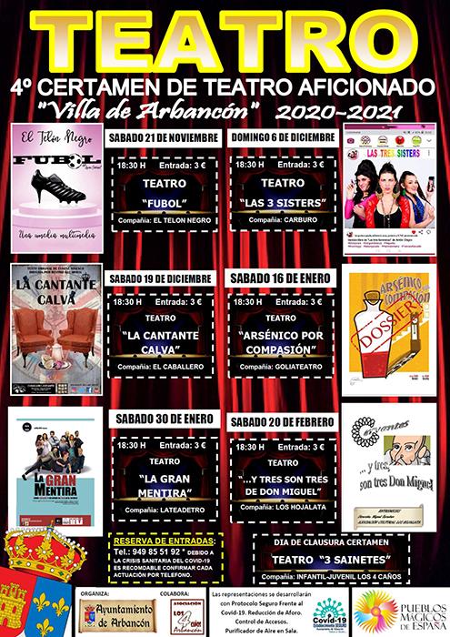 Arbancón presenta su IV Certamen de Teatro Aficionado