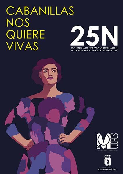 """""""Cabanillas nos quiere vivas"""" Un libro colectivo conmemora este 25N el Día Internacional contra la Violencia Machista"""