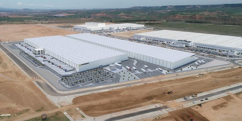 Centro de Operaciones Luis Simões en el polígono industrial Ciudad del Transporte de Guadalajara
