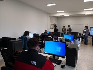 Efa El Llano inaugura oficialmente el aula destinada al ciclo de FP de grado superior de Transporte y Logística