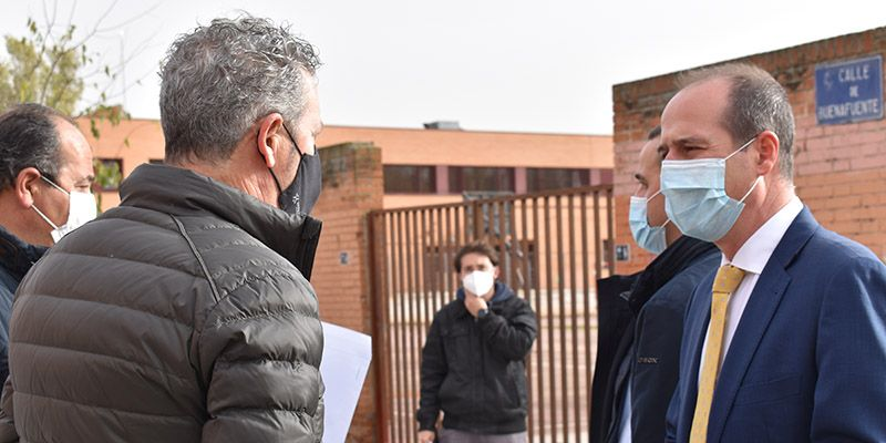 El Ayuntamiento de Guadalajara invierte 333.000 euros en la mejora de la red de aguas pluviales para evitar inundaciones por tormenta