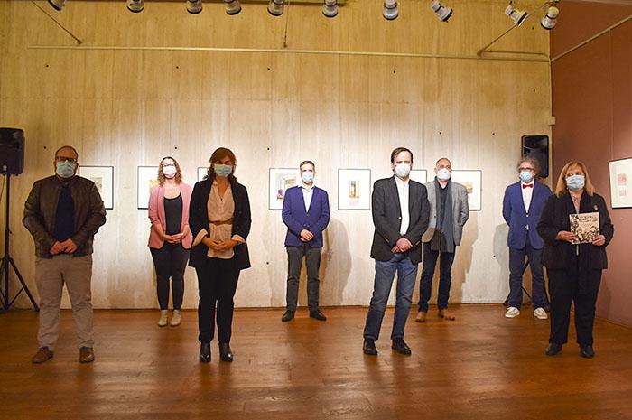El Ayuntamiento de Guadalajara rinde un homenaje a la figura de Antonio Buero Vallejo con la inauguración de una exposición inédita sobre su obra gráfica