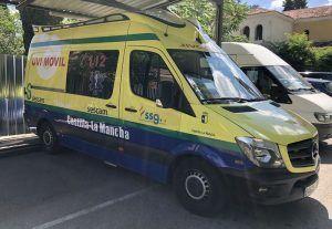 El comité de huelga de SSG-Digamar en Castilla-La Mancha suspende la huelga del transporte sanitario en Guadalajara