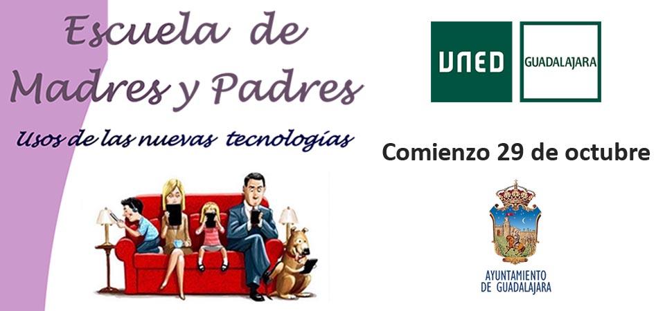 El Ayuntamiento de Guadalajara y la UNED organizan la escuela de madres y padres, ahora online, para ayudar a jóvenes a gestionar la actualidad marcada por la COVID-19
