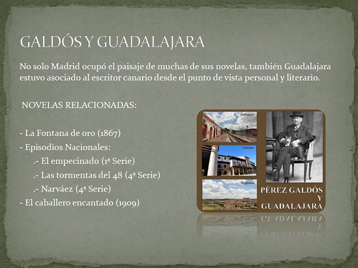 La Diputación de Guadalajara fomentará la lectura con la obras de Benito Pérez Galdós