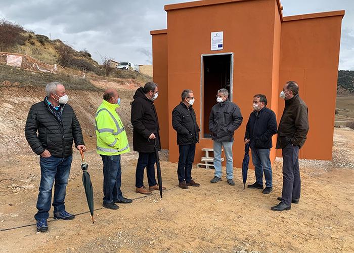 La Junta invierte cerca de 65.000 euros en el nuevo depósito de agua potable del municipio de Megina