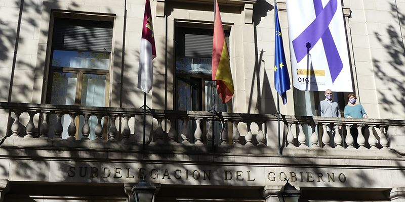 La Subdelegación del Gobierno de Guadalajara se suma a los actos contra la violencia de género