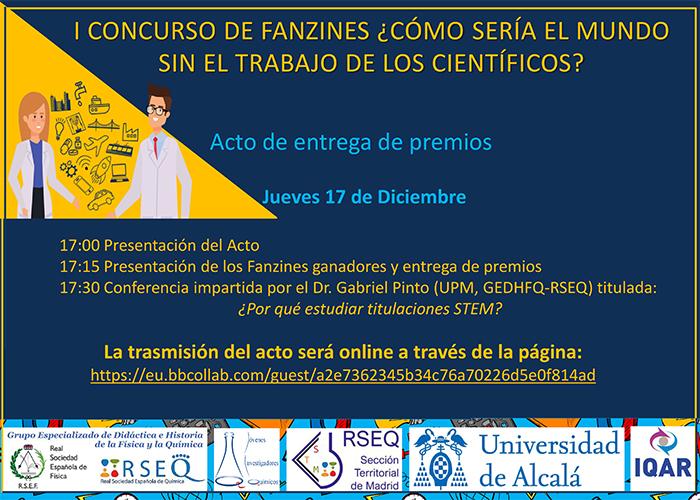 Alumnos de 3º de ESO del IES Brianda de Mendoza de Guadalajara ganan el I Concurso de Fanzines organizado por la UAH
