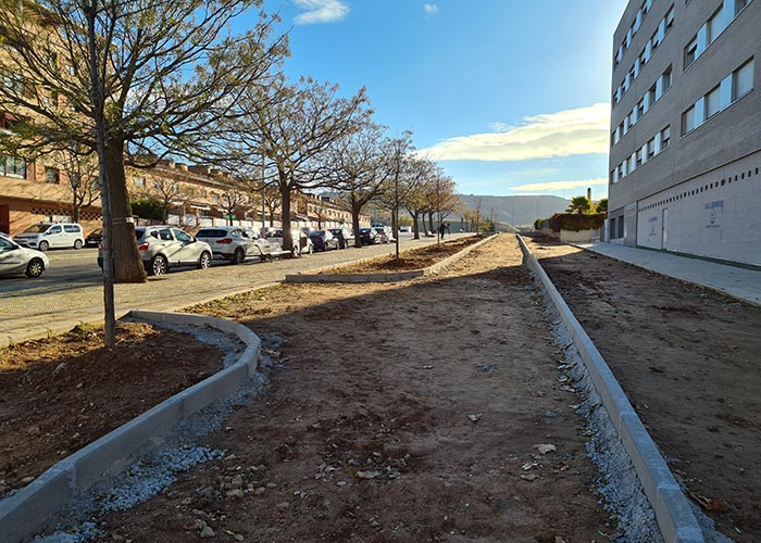 El Ayuntamiento de Guadalajara realiza obras de mejora en el entorno de la Ruta del Colesterol valoradas en 150.000 euros