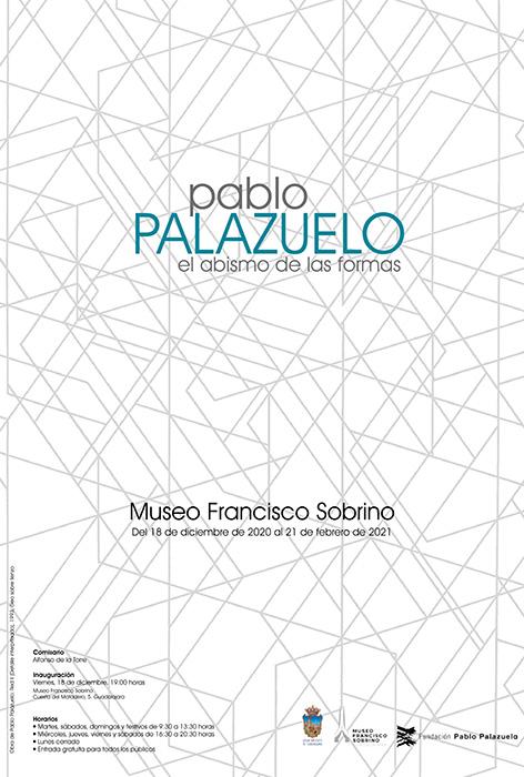 El Museo Sobrino acoge desde hoy, y hasta el próximo 21 de febrero, la exposición de Pablo Palazuelo 'El abismo de las formas'