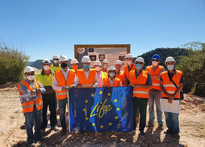 El Proyecto Europeo LIfe Ribermine reconocido entre las mejoras prácticas regionales en materia de energía y acción climática del Pacto Verde Europeo