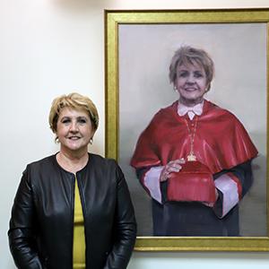 El retrato de María Ángeles Zurilla