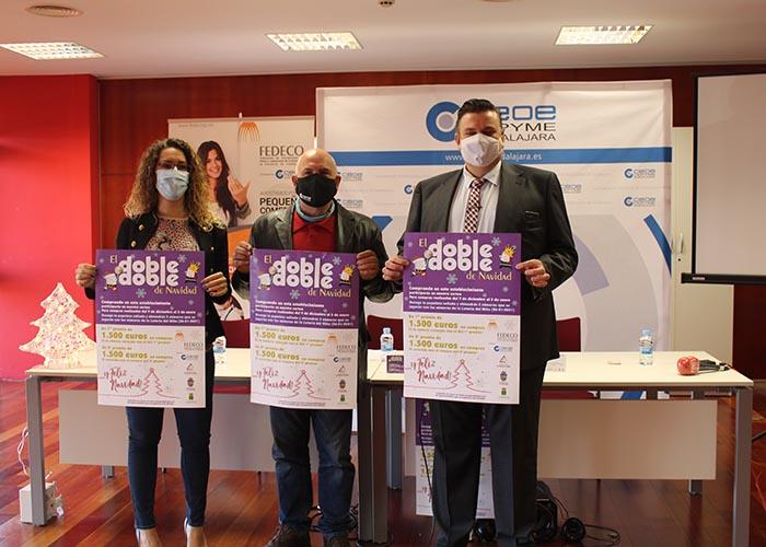 FEDECO presenta su doble de navidad con el objetivo de dinamizar el comercio de proximidad de toda Guadalajara