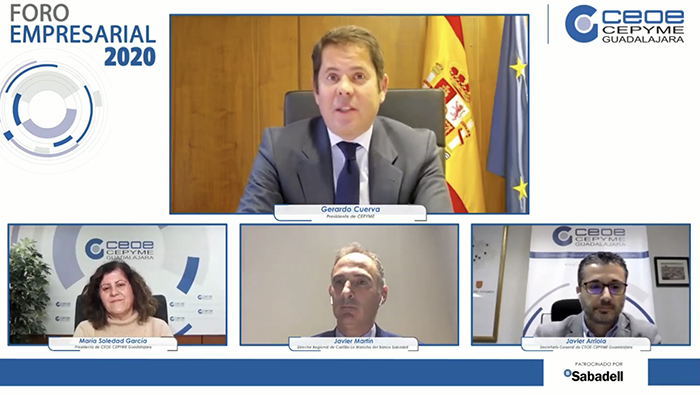 """Gerardo Cuerva: """"El progreso se hace de mano de la empresa"""""""