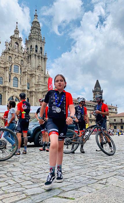 """La cabanillera Olivia García busca apoyos para correr la """"Marruecos On Bike"""" el próximo octubre"""