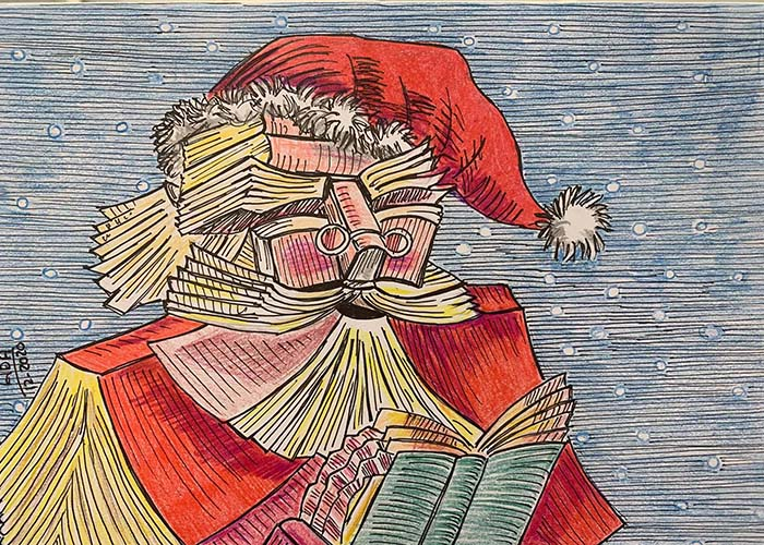 La iniciativa «Felibridades» de la biblioteca de Cabanillas recolecta más de 200 tarjetas navideñas