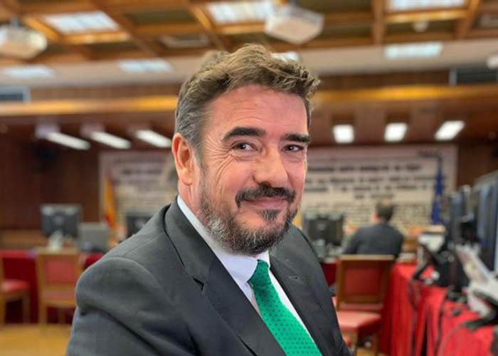 Rafael Esteban, senador socialista por Guadalajara