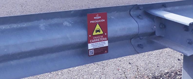 Se retoman los trabajos de revisión de la señalización senderista y BTT del Camino del Cid en la provincia de Guadalajara