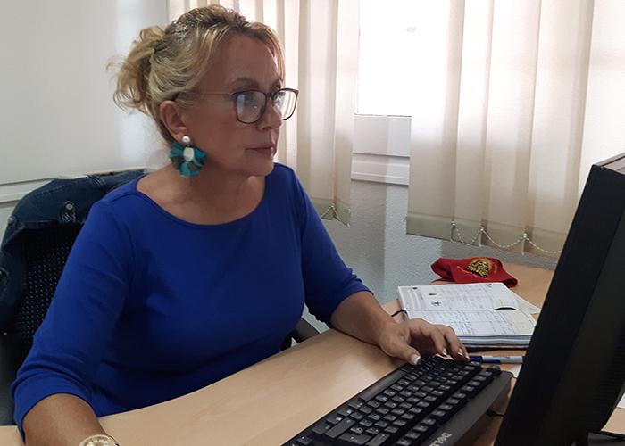 Aure Horamechea, portavoz PP Ayuntamiento de Azuqueca