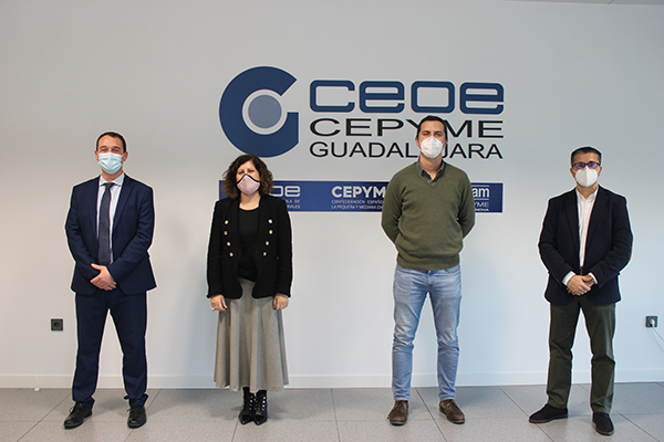 CEOE-Cepyme Guadalajara e Ilunion Facility Services firman un convenio de colaboración