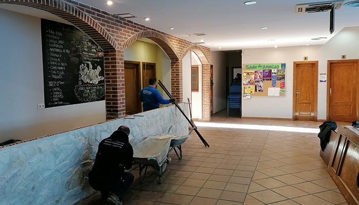 El Ayuntamiento de Villanueva de la Torre reforma la Zona Joven para adecuarla a su uso y habilitar más espacios para formación y ocio