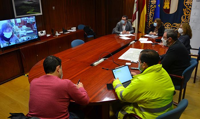 El Centro de Análisis y Seguimiento Provincial de Guadalajara coordina los medios y actuaciones previstas en torno a la borrasca Filomena