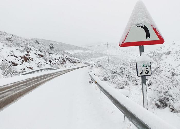 El Plan Infocam del Gobierno de Castilla-La Mancha suma ocho camiones con palas quitanieves para atender las emergencias meteorológicas de estos días