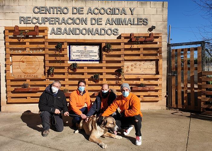 La Asociación Cultural de Escopitos visita La Camada de Guadalajara