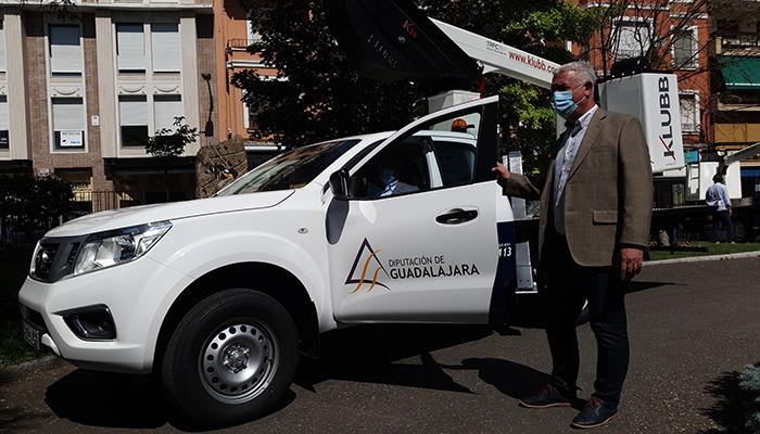 La Diputación de Guadalajara iniciará el 6 de febrero el servicio de reparaciones urgentes en fines de semana y festivos