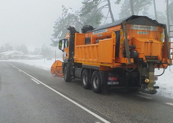 La Junta realiza cerca de 400 actuaciones a través del Plan Infocam para mitigar los efectos del temporal causado por la borrasca Filomena
