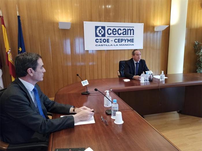 Los empresarios de Castilla-La Mancha afrontan 2021 con preocupación, tras un año aciago que ha dejado a las empresas desgastadas