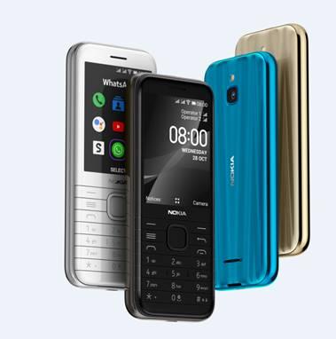 Los nuevos Nokia 6300 4G y Nokia 8000 4G ya están disponibles en España