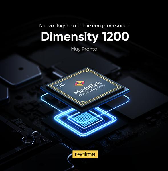 Realme será una de las primeras marcas en lanzar un smartphone con procesador Dimensity 1200 de MediaTek