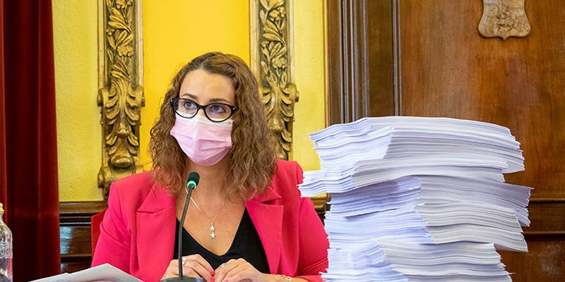 """Sara Simón """"Filomena demuestra que la oposición del señor Carnicero no está a la altura"""""""