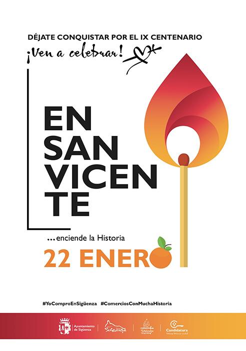 Sigüenza no olvida a San Vicente