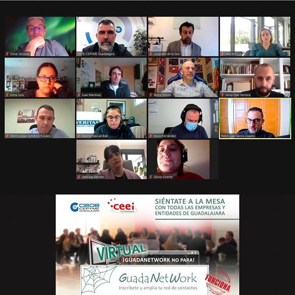 Arrancan las reuniones de Guadanetwork de 2021 de forma virtual