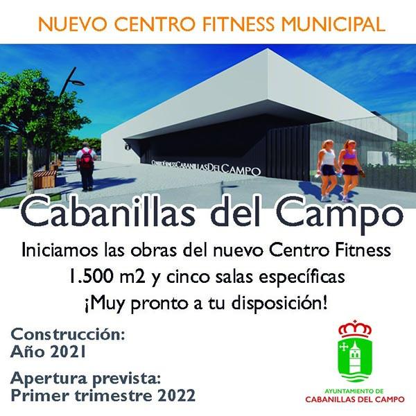 El Ayuntamiento de Cabanillas cierra la adjudicación de la obra del Centro Fitness, cuya construcción comenzará en los próximos días