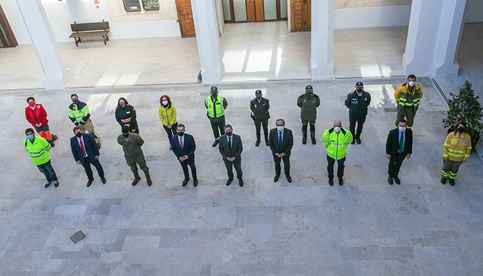 """El presidente de Castilla-La Mancha agradece el esfuerzo realizado por el operativo 'Filomena' porque """"se han salvado muchas vidas"""""""