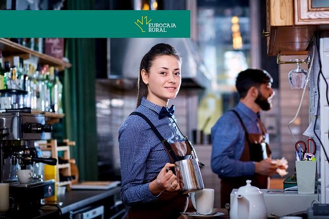 Eurocaja Rural apoya a bares y restaurantes eliminando los gastos fijos por sus TPV's durante el primer semestre de 2021
