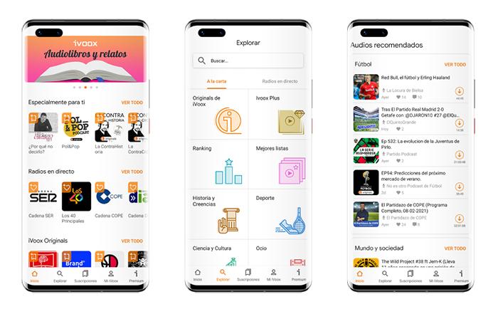 iVoox se incorpora a Huawei AppGallery para promocionar el consumo de podcasts
