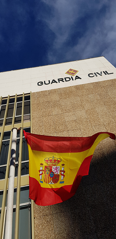 La Guardia Civil detiene a una persona en Alovera por robo en una vivienda•Fue sorprendido por los agentes escondido en el interior del garaje