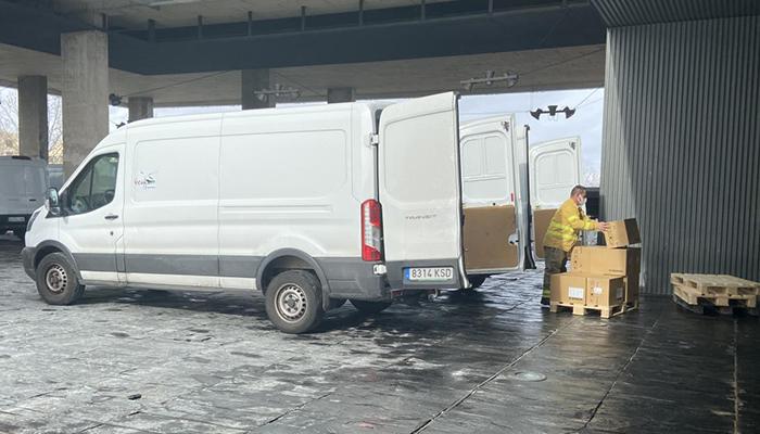 La Junta ha distribuido más de 807.000  artículos de protección para profesionales sanitarios durante esta semana