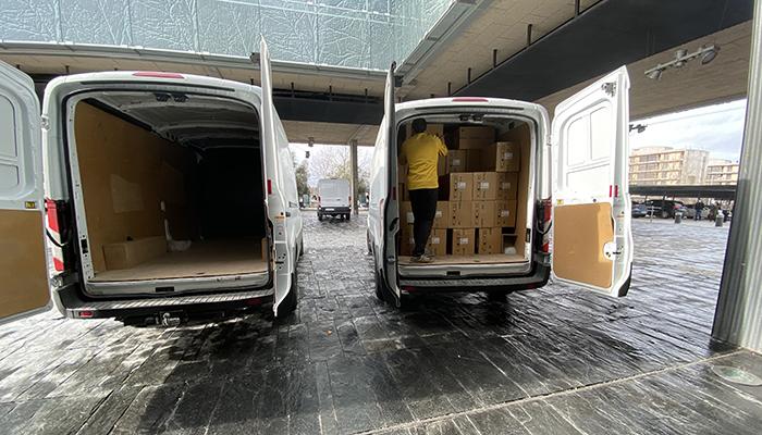 La Junta ha distribuido más de 830.000 artículos de protección para profesionales sanitarios durante esta semana