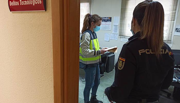 La Policía Nacional alerta de un repunte de estafas que suplantan al servicio técnico de Microsoft en la ciudad de Guadalajara