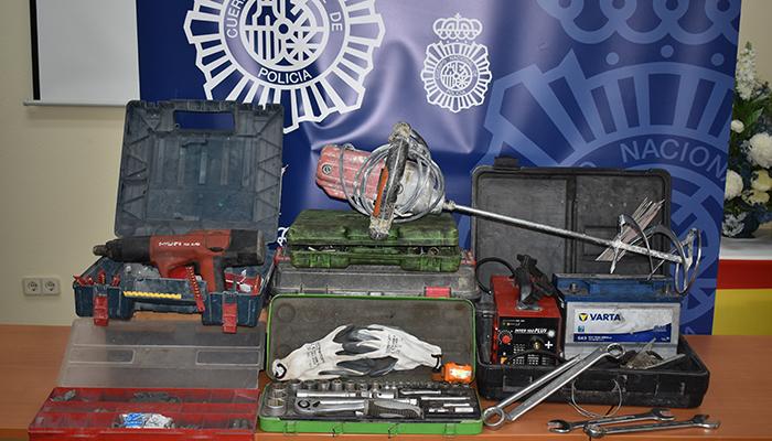 La Policía Nacional detiene, tras una persecución en coche por Guadalajara, al autor de más de treinta robos en furgonetas