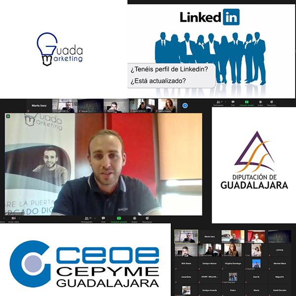 Más de 200 empresarios y autónomos se conectan a los dos primeros talleres virtuales sobre gestión de redes sociales de CEOE-Cepyme Guadalajara