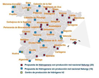 Naturgy impulsa la movilidad sostenible con la construcción de sus primeras hidrogeneras en Cuenca y Guadalajara