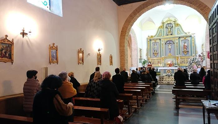Villanueva de la Torre honra a su patrona, Santa Águeda, de manera contenida debido a la pandemia