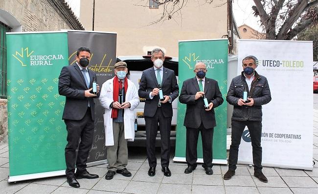 Eurocaja Rural, Oleotoledo, UTECO-Toledo y Pieralisi España entregan más de mil litros de aceite a la ONG Socorro de los Pobres